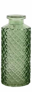 Bilde av Minivase, Amadeo ruter, grønn 13 cm