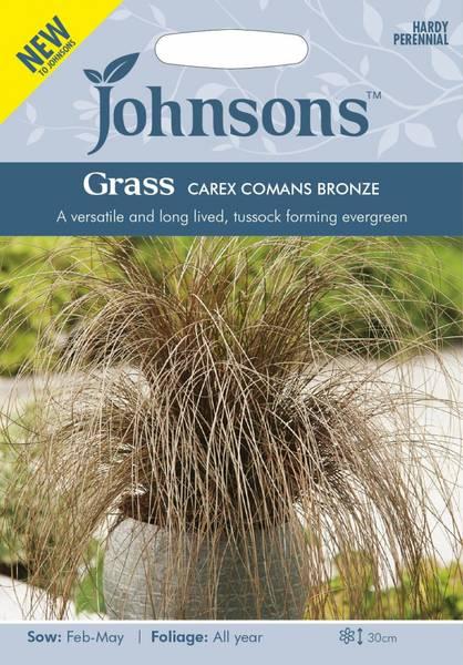 Bronsestarr - Carex comans Bronze