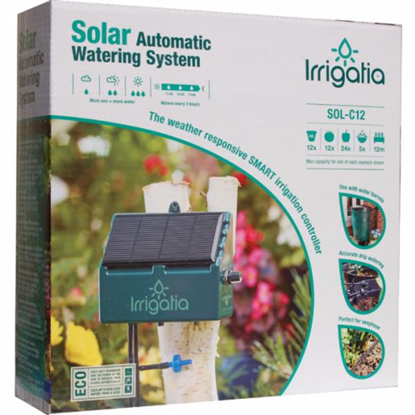 Irrigatia SOL-C12 Selvvanningsett