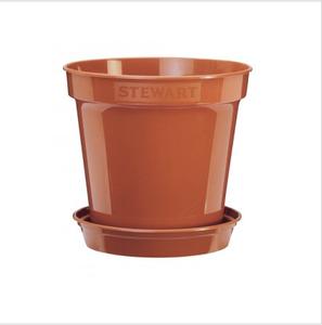 Bilde av Plastpotte 18 cm, brun