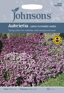 Bilde av Blåpute 'Large Flowered Mixed' - Aubrieta